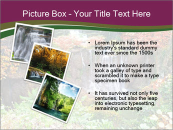 Waterfall In Thailand PowerPoint Templates - Slide 17