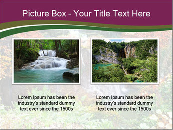 Waterfall In Thailand PowerPoint Templates - Slide 18
