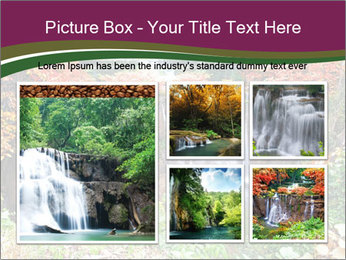 Waterfall In Thailand PowerPoint Template - Slide 19