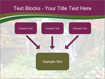 Waterfall In Thailand PowerPoint Templates - Slide 70