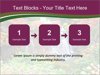 Waterfall In Thailand PowerPoint Templates - Slide 71