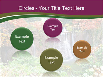 Waterfall In Thailand PowerPoint Templates - Slide 77