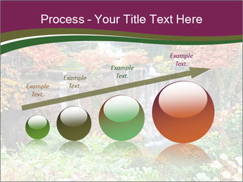 Waterfall In Thailand PowerPoint Templates - Slide 87