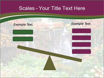 Waterfall In Thailand PowerPoint Templates - Slide 89