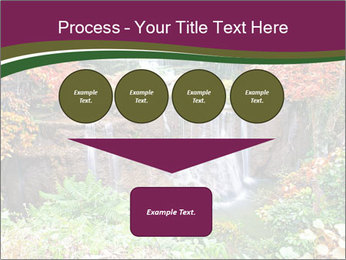 Waterfall In Thailand PowerPoint Templates - Slide 93