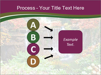 Waterfall In Thailand PowerPoint Templates - Slide 94