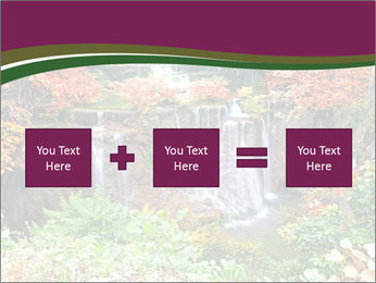Waterfall In Thailand PowerPoint Templates - Slide 95