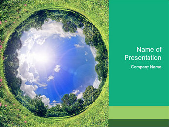 Ecosystem PowerPoint Template