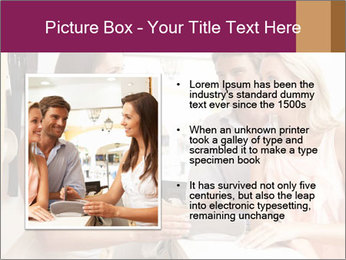 Couple Talking To Shop Assistant PowerPoint Templates - Slide 13
