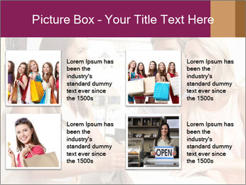 Couple Talking To Shop Assistant PowerPoint Templates - Slide 14