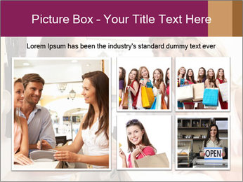 Couple Talking To Shop Assistant PowerPoint Templates - Slide 19