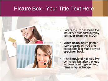Couple Talking To Shop Assistant PowerPoint Templates - Slide 20