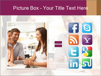 Couple Talking To Shop Assistant PowerPoint Templates - Slide 21