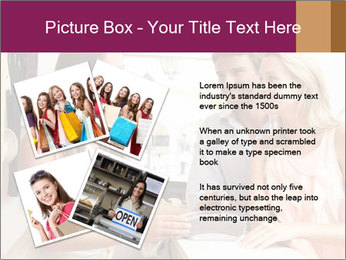 Couple Talking To Shop Assistant PowerPoint Templates - Slide 23
