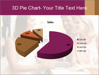 Couple Talking To Shop Assistant PowerPoint Templates - Slide 35