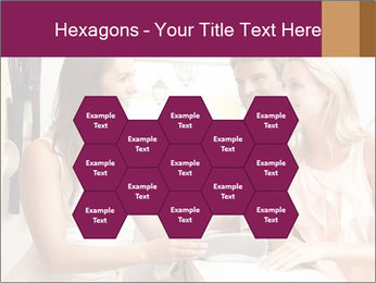 Couple Talking To Shop Assistant PowerPoint Templates - Slide 44