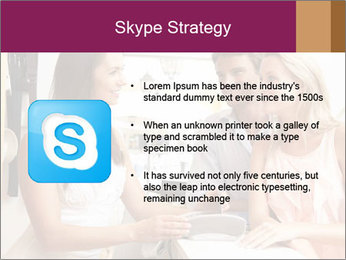 Couple Talking To Shop Assistant PowerPoint Templates - Slide 8