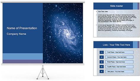 Pleiades PowerPoint Template