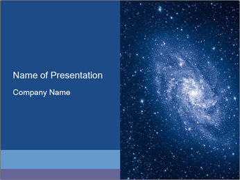 Pleiades PowerPoint Template - Slide 1