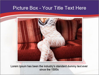 Woman With Red Pillow PowerPoint Template - Slide 16