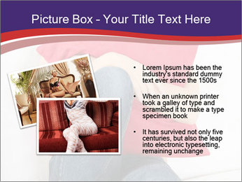 Woman With Red Pillow PowerPoint Template - Slide 20