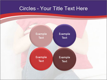 Woman With Red Pillow PowerPoint Templates - Slide 38