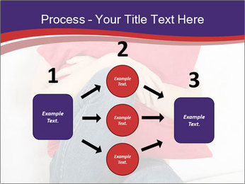 Woman With Red Pillow PowerPoint Templates - Slide 92