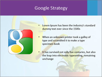 Plant And Wateringpot PowerPoint Templates - Slide 10