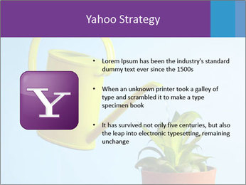 Plant And Wateringpot PowerPoint Templates - Slide 11