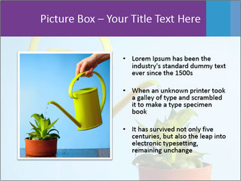 Plant And Wateringpot PowerPoint Template - Slide 13