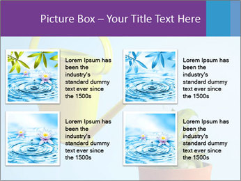 Plant And Wateringpot PowerPoint Templates - Slide 14