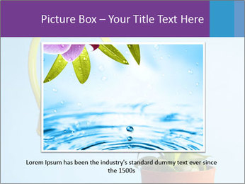 Plant And Wateringpot PowerPoint Templates - Slide 16