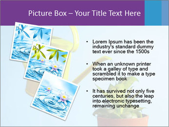 Plant And Wateringpot PowerPoint Templates - Slide 17