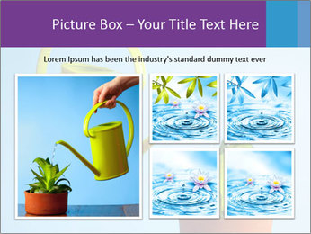 Plant And Wateringpot PowerPoint Templates - Slide 19