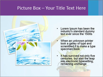 Plant And Wateringpot PowerPoint Templates - Slide 20