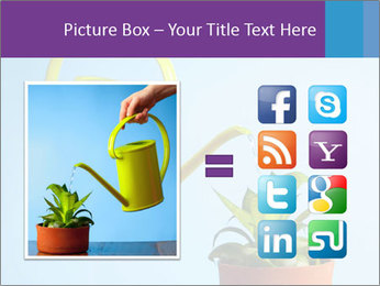 Plant And Wateringpot PowerPoint Templates - Slide 21