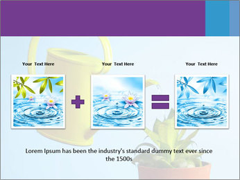 Plant And Wateringpot PowerPoint Template - Slide 22