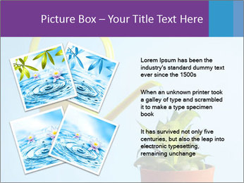 Plant And Wateringpot PowerPoint Templates - Slide 23