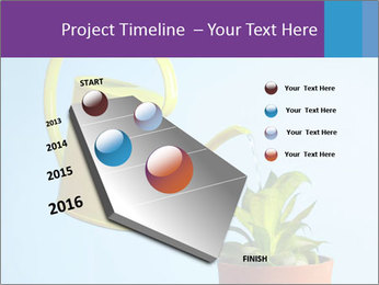 Plant And Wateringpot PowerPoint Template - Slide 26