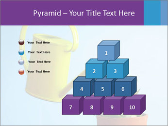 Plant And Wateringpot PowerPoint Template - Slide 31