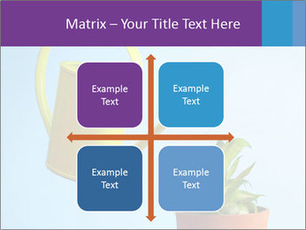 Plant And Wateringpot PowerPoint Templates - Slide 37