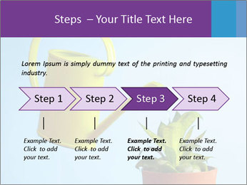 Plant And Wateringpot PowerPoint Template - Slide 4