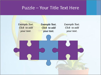 Plant And Wateringpot PowerPoint Templates - Slide 42
