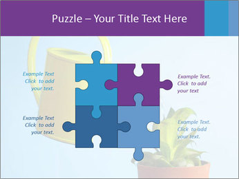 Plant And Wateringpot PowerPoint Templates - Slide 43