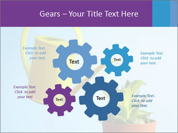 Plant And Wateringpot PowerPoint Templates - Slide 47