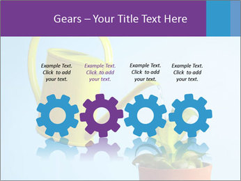 Plant And Wateringpot PowerPoint Templates - Slide 48