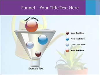 Plant And Wateringpot PowerPoint Templates - Slide 63