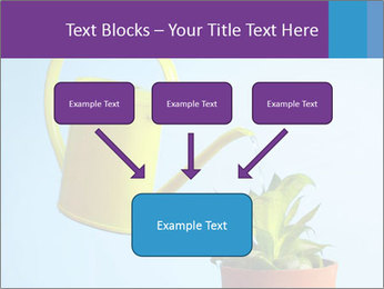 Plant And Wateringpot PowerPoint Templates - Slide 70
