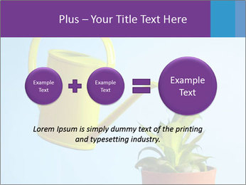 Plant And Wateringpot PowerPoint Templates - Slide 75