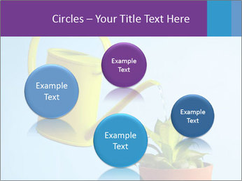 Plant And Wateringpot PowerPoint Templates - Slide 77